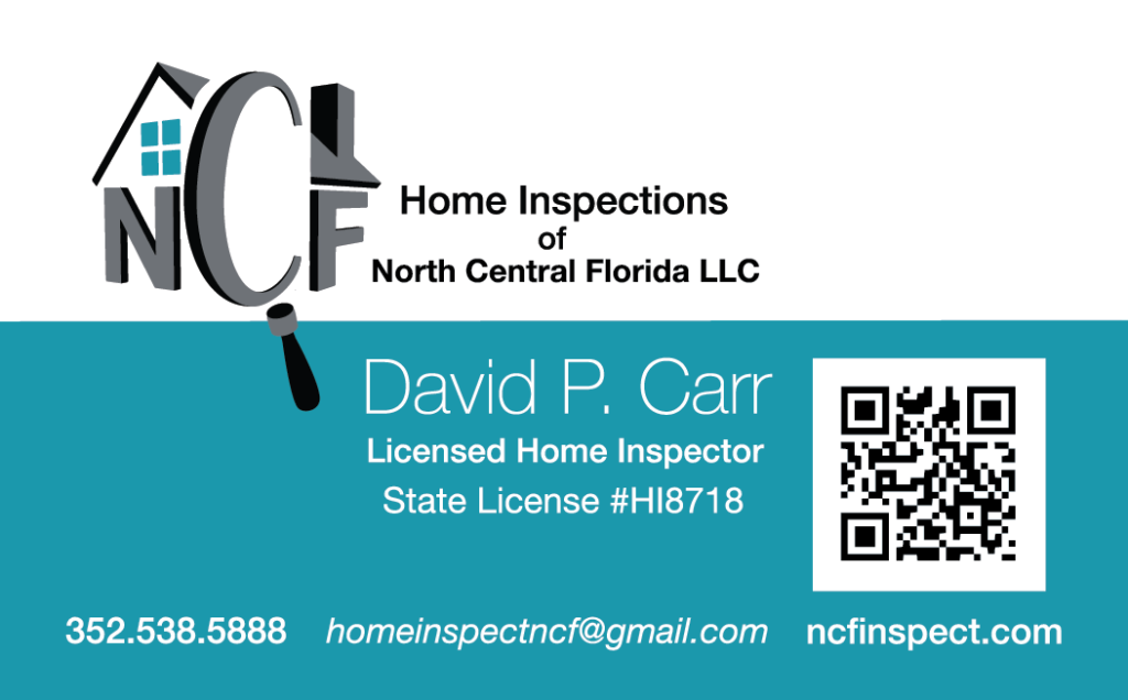 NCF Home Inspections Logo – Chad Cox